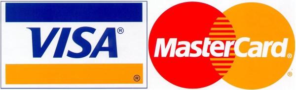Банковские карты Visa и MasterCard