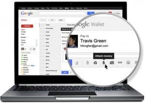 Google включит в процесс денежных переводов электронную почту