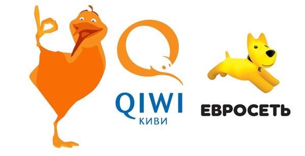 Идентификация Visa QIWI Wallet через Евросеть